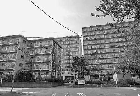 日本マンション学会見学会 低層19棟にエレベーター新設