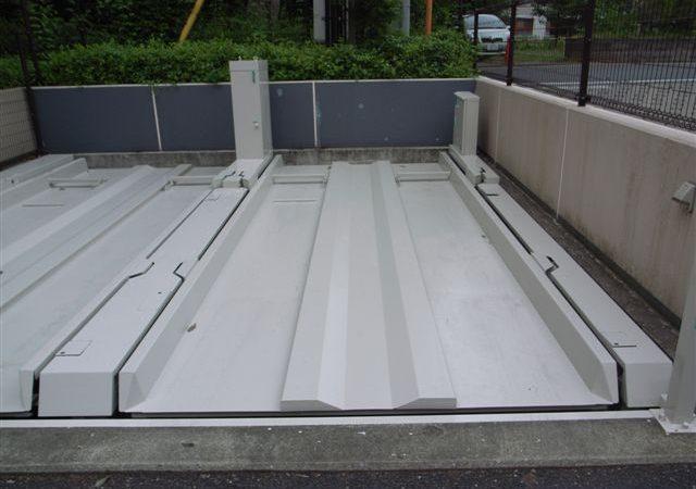 工法紹介 立体駐車場床用Gガードシステム 超防錆、耐磨耗性、耐候性等でメンテナンス費軽減効果あり