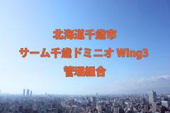 File Data.122  北海道千歳市/サーム千歳ドミニオ Wing3 管理組合