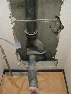 マンション設備の改修 <解説と事例>  排 水 :「 単 管 式 排 水 シ ス テ ム 」 に つ い