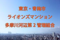 File Data. 133 東京・青梅市/ライオンズマンション多摩川河辺第2管理組合